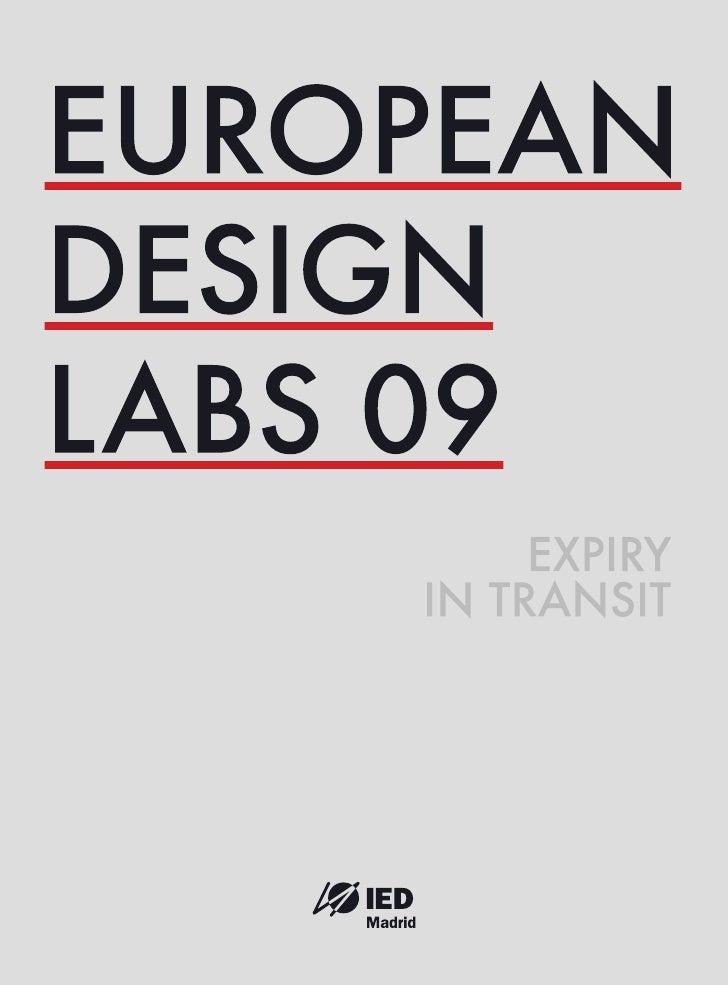 EUROPEAN DESIGN LABS 2009