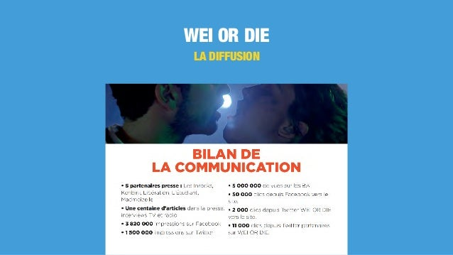 WEI OR DIE LA DIFFUSION
