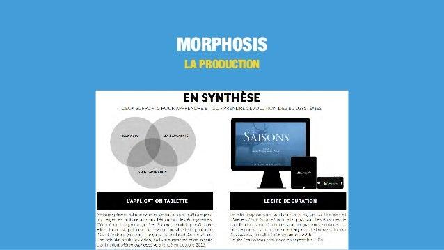MORPHOSIS LA PRODUCTION