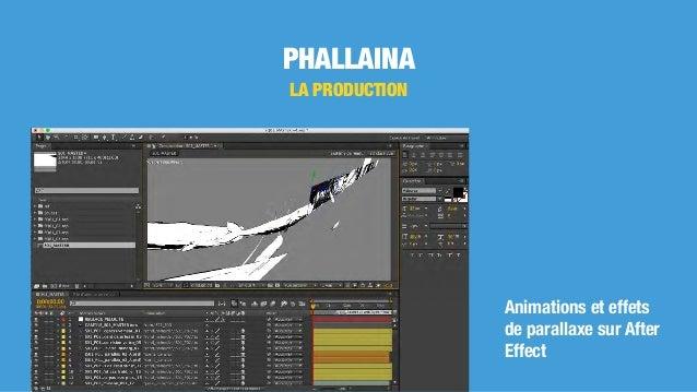 PHALLAINA LA PRODUCTION Animations et effets de parallaxe sur After Effect