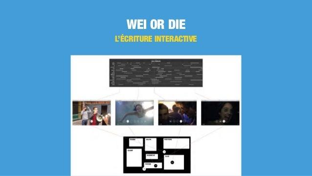 WEI OR DIE L'ÉCRITURE INTERACTIVE