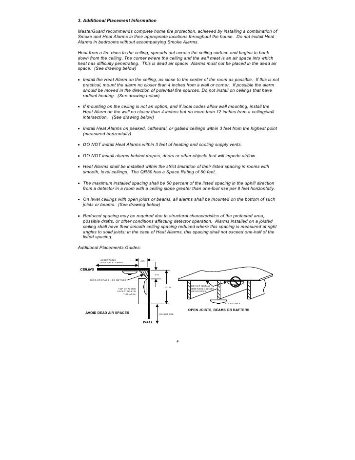 Masterguard Qr50 User Manual