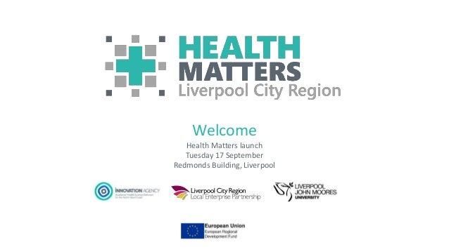 Health Matters Liverpool City Region Launch