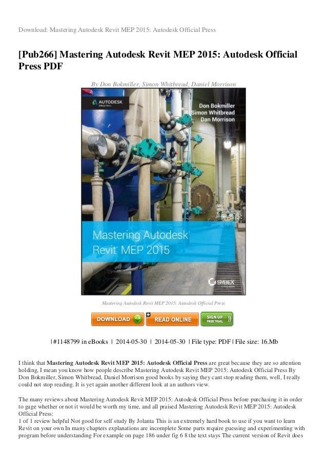 Mep 2014 tutorial pdf revit