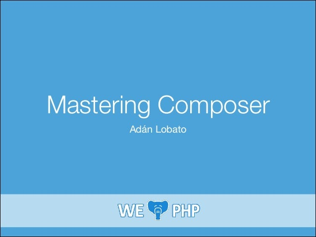 Mastering Composer Adán Lobato
