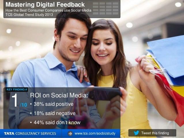 Mastering Digital Feedback: How the Best Consumer Companies Use Social Media Slide 2