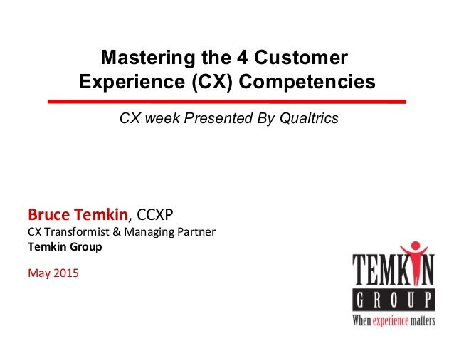 Mastering the 4 Customer Experience Competencies Slide 3