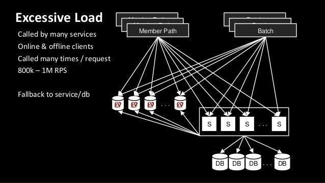 Batch S S S S. . . DB DB DB DB. . . . . . . . . Member Path Member Path Member Path Batch Batch Workload partitioning Requ...
