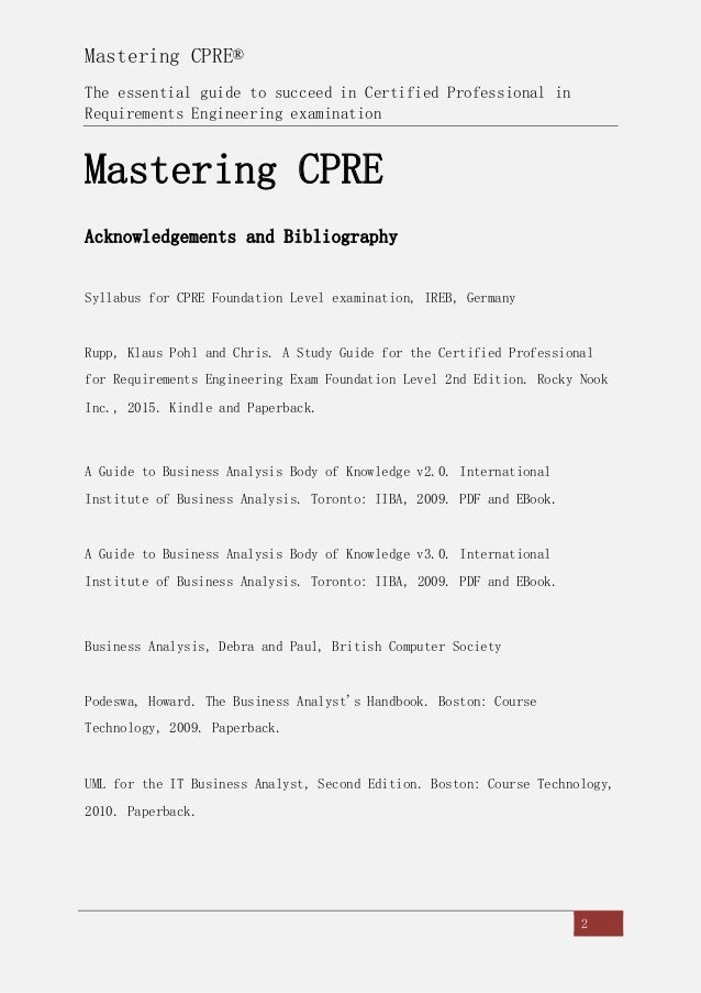 Mastering cpre sample chapter fandeluxe Choice Image
