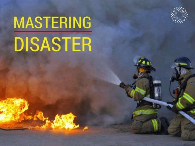 Mastering Disasters - Velocity Ignite 2013 New York