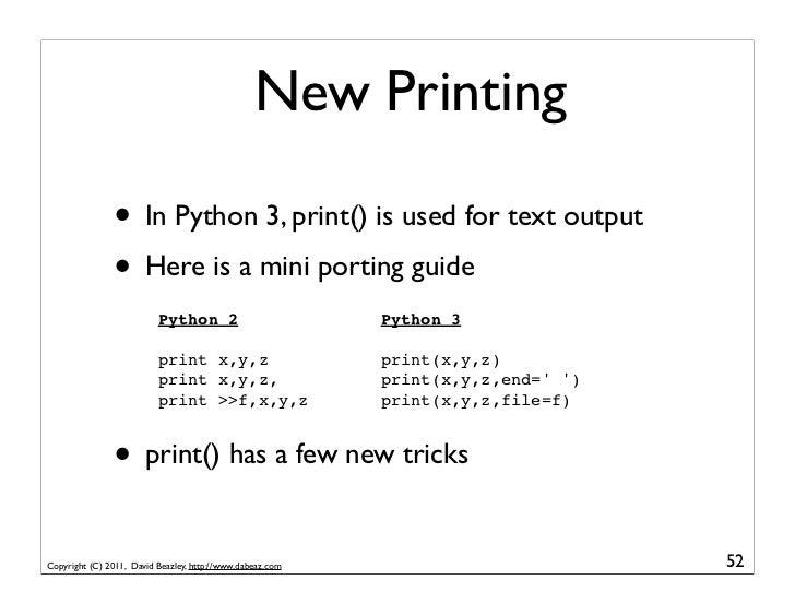 Python 2 Printing