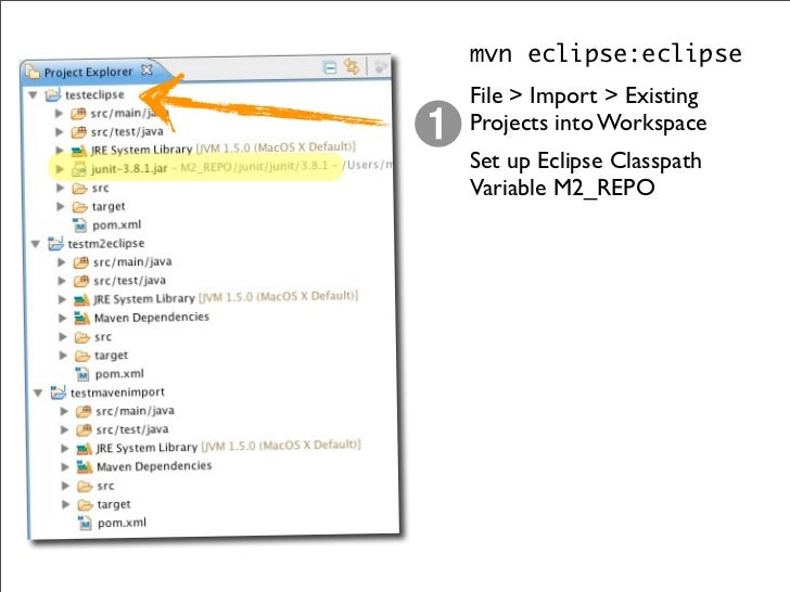 Maven SCM Support  mvn release:prepare  ‣ Increments all pom.xml version tags.