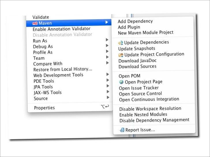 Exec Plugin  ‣ Run any Java main class or external tool.