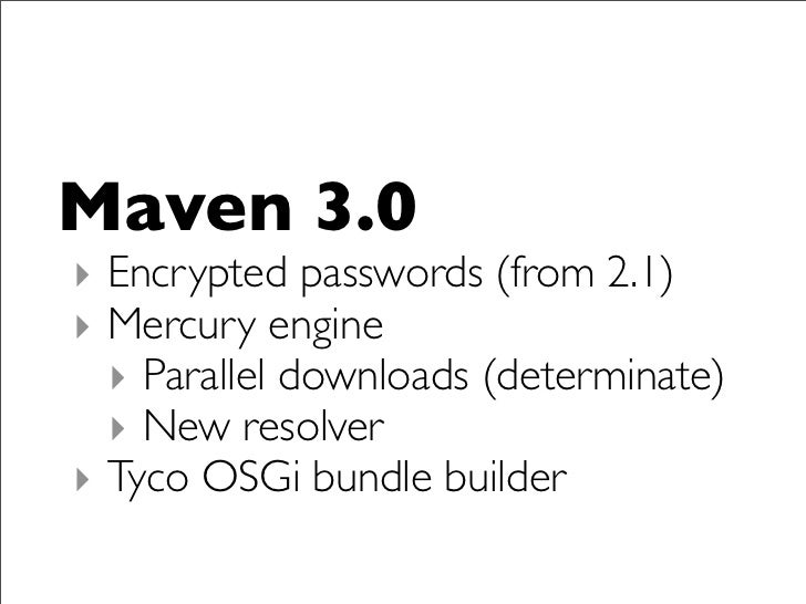 Mastering Maven 2.0 In 1 Hour V1.3