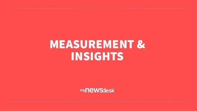 MEASUREMENT & INSIGHTS