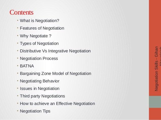 Negotiation skills pdf ebook