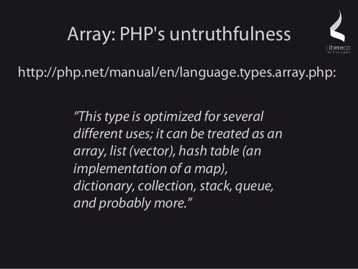 Php array.