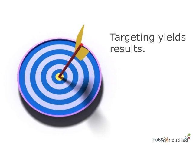Targeting yieldsresults.