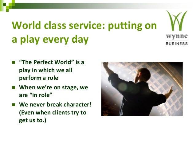 Dissertation on world class service
