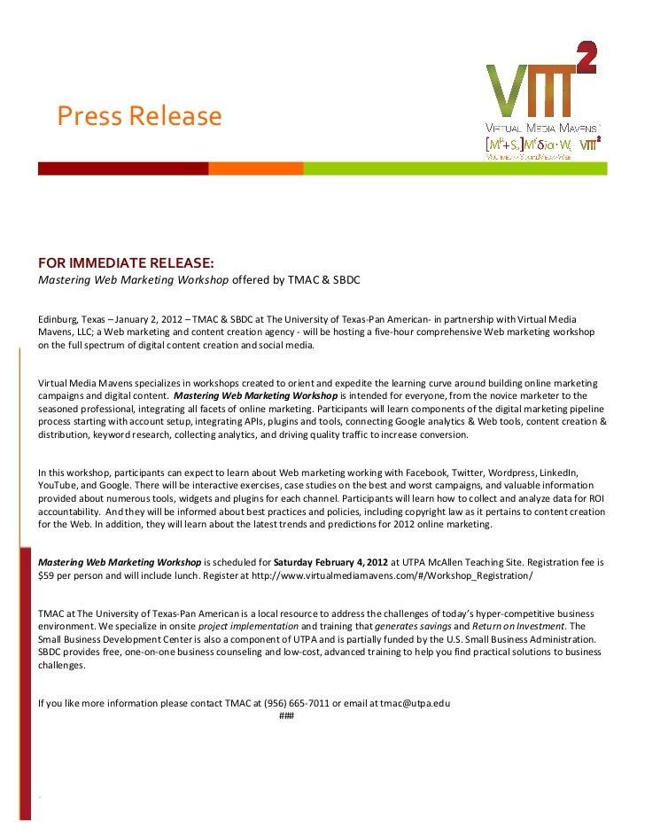 Press Release                                                                                                         ...