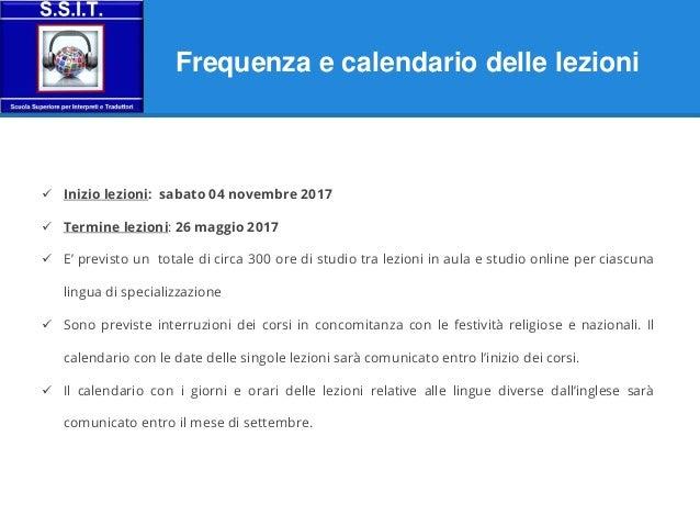Calendario Traduzione Inglese.Master In Traduzione Settoriale E Interpretazione A