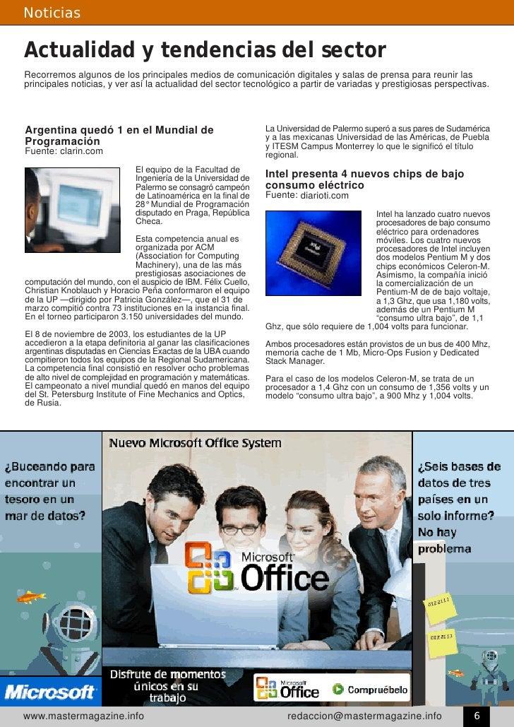 Noticias  Actualidad y tendencias del sector Recorremos algunos de los principales medios de comunicación digitales y sala...