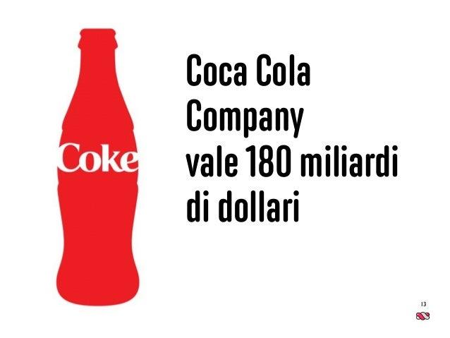13 Coca Cola Company  vale 180 miliardi di dollari