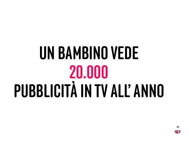 UN BAMBINOVEDE 20.000 PUBBLICITÀ INTVALL'ANNO 20