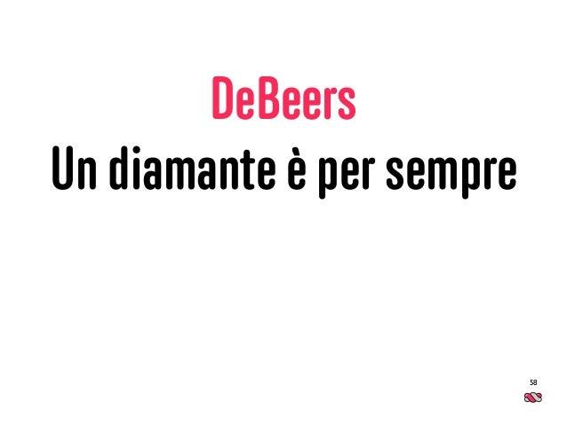 DeBeers Un diamante è per sempre 58
