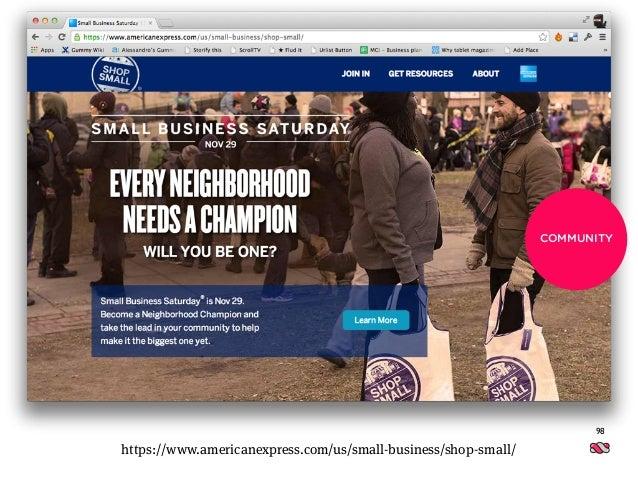 Inserisci qui un occhiello 98 https://www.americanexpress.com/us/small-business/shop-small/ COMMUNITY