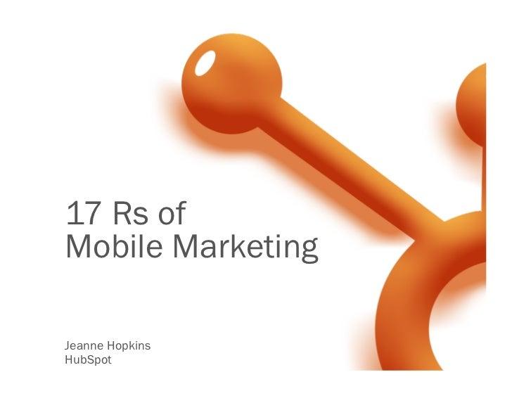 Master Mobile Marketing in 2012 Slide 3