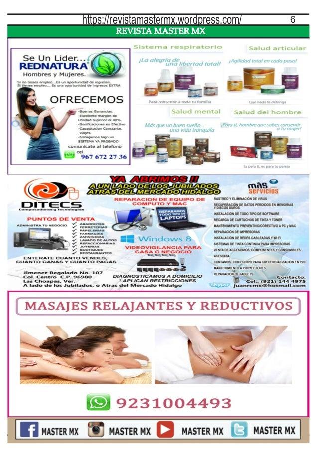 REVISTA MASTER MX 6https://revistamastermx.wordpress.com/