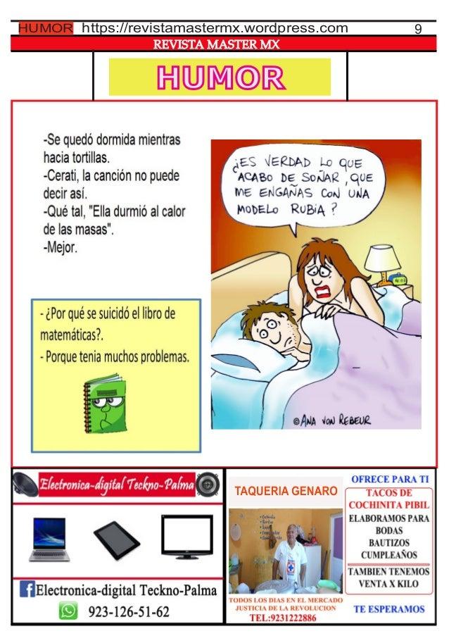 HUMOR REVISTA MASTER MX 9https://revistamastermx.wordpress.comHUMOR