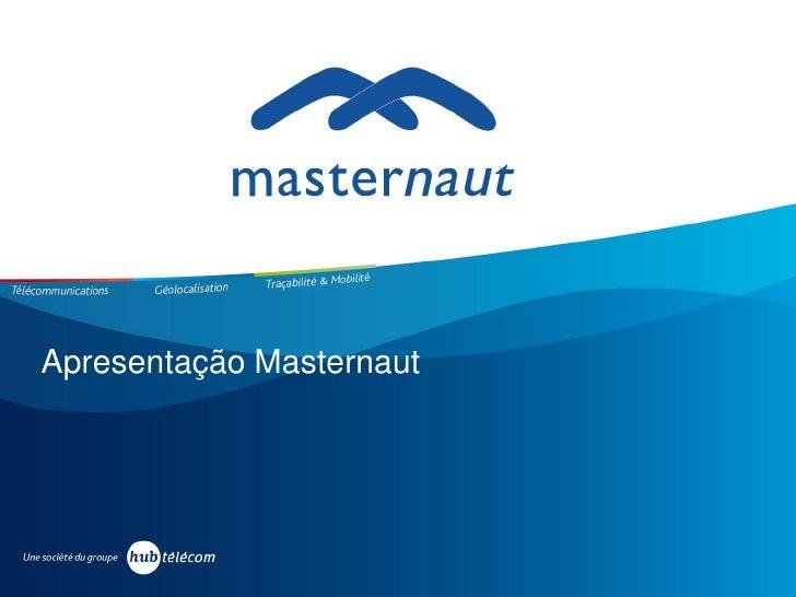 Apresentação Masternaut