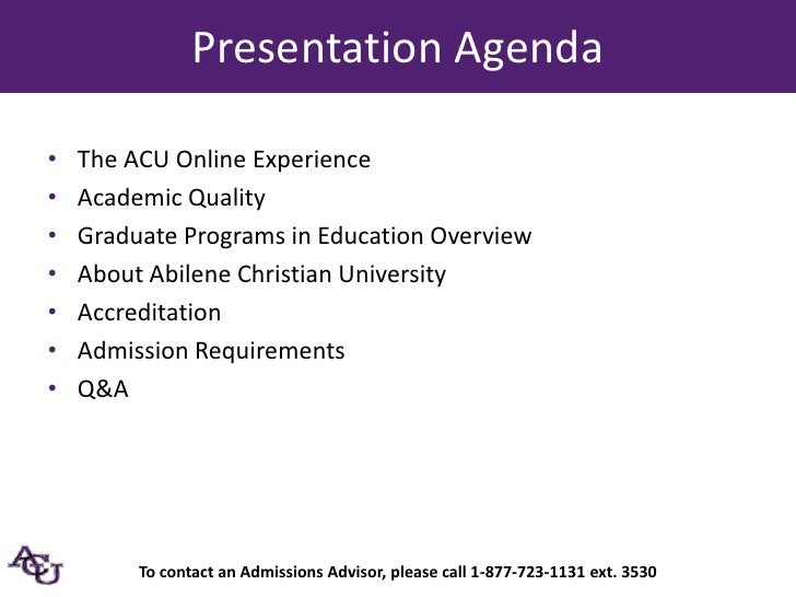 Admissions - Abilene Christian Schools