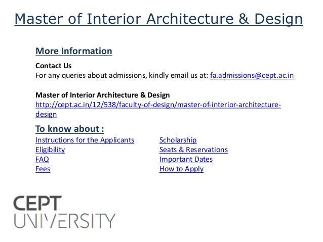 Master Of Interior Architecture Design 5