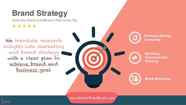Brand Strategy Build Your Brand to Embrace a Path to the Top Business Strategy Consulting Marketing Communication Planning...