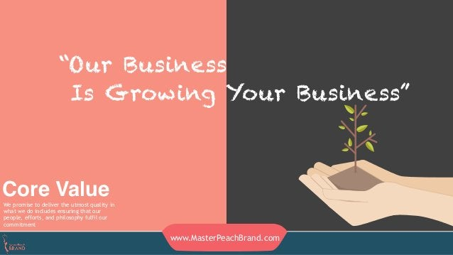"""""""Our Business Is Growing Your Business"""" Core ValueWe promise to deliver the utmost quality in what we do includes ensuring..."""