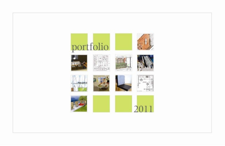 2011 Interior Design Portfolio