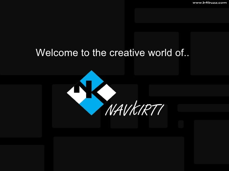 Welcome to the creative world of..