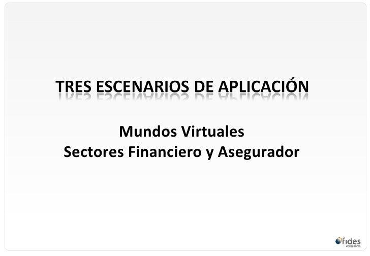 Mundos virtuales escenarios para la formaci n en el for Fides sergas oficina virtual