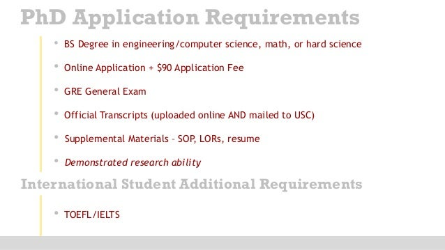 Online doctoral degree computer science