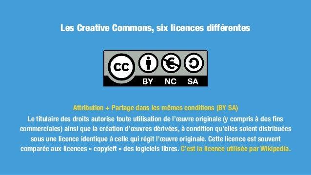 Les Creative Commons, c'est passer du «tous droits réservés» aux «certains droits réservés». Il n'est plus indispensab...