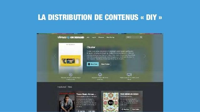 LA DISTRIBUTION DE CONTENUS «DIY»