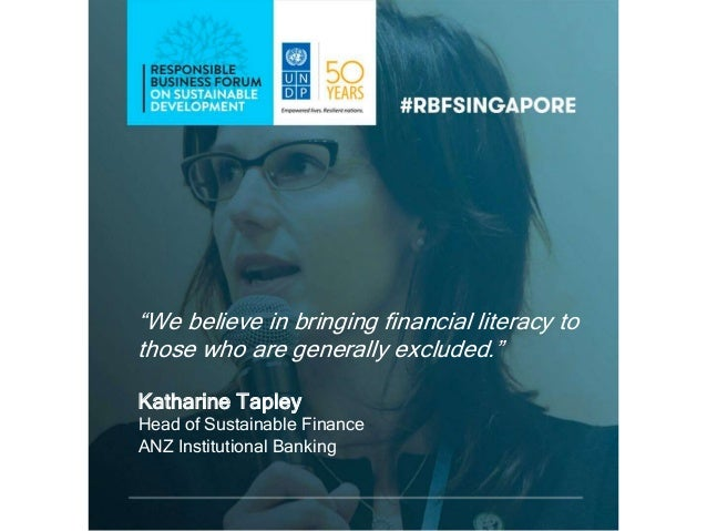 Catch Up On The Best Quotes From Rbf Singapore