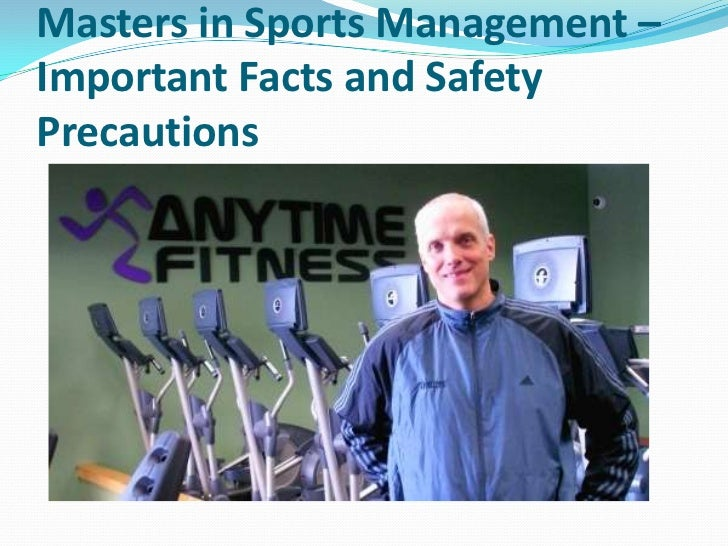 importance of management in sport