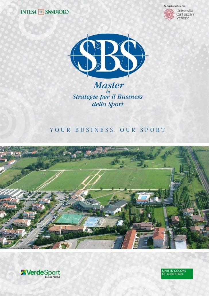 Master SBS V - Abstract Brochure