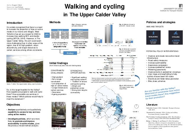 Introduction It is widely recognized that there is a need to increase the proportion of trips on active modes in our towns...