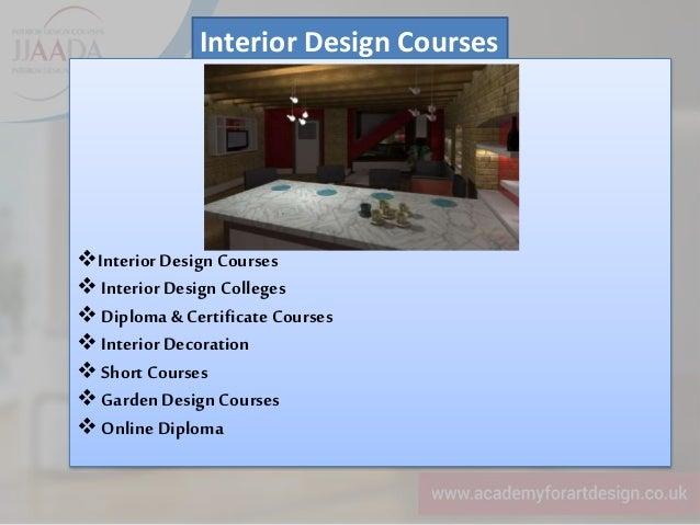 Masters In Interior Design In London Uk