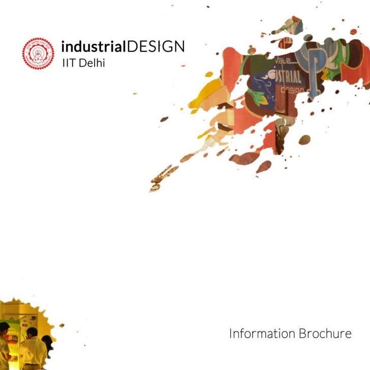 Masters of design    brochure - iitd - session 2012 - 2013